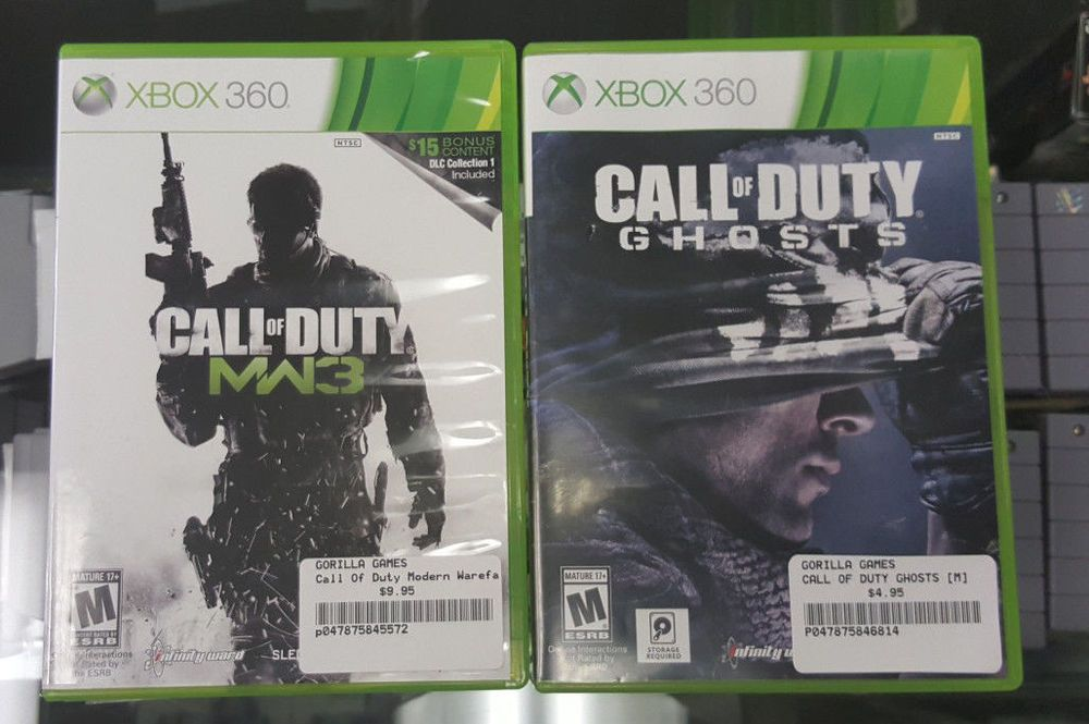 Call Of Duty Modern Warfare 3 Call Of Duty Ghosts Microsoft