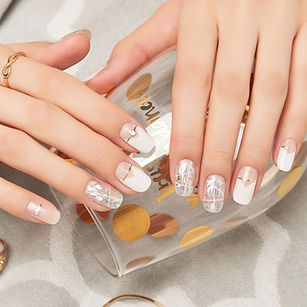 No Damage No Dry Time Get Salon Quality Gel Nails In 10 Minutes Gel Nails Without Uv Light Easy Peel Off Gel Nails Nail Art Designs Acrylic Nail Designs