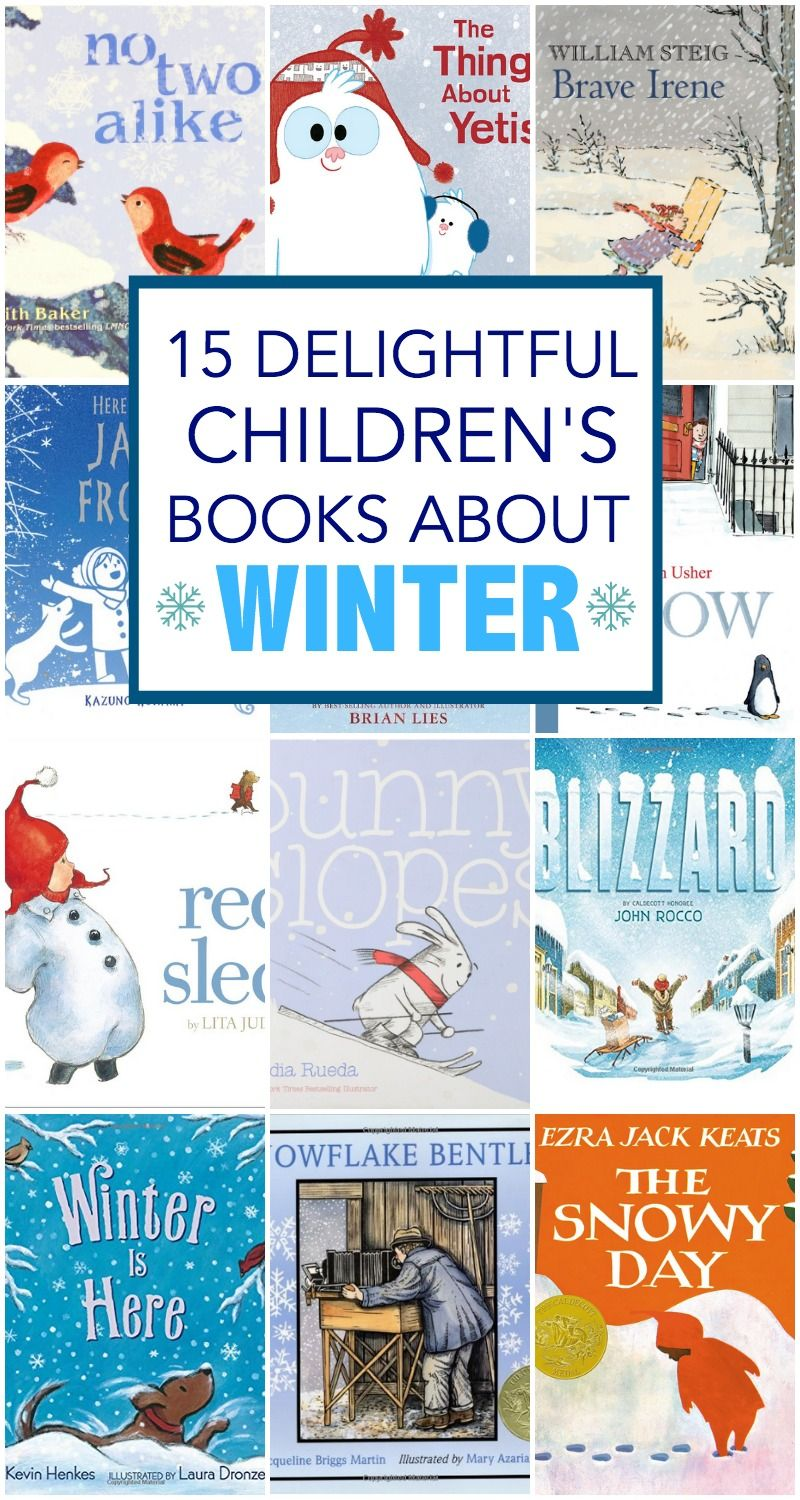 12 Delightful Children's Books about Winter   Everyday Reading ...
