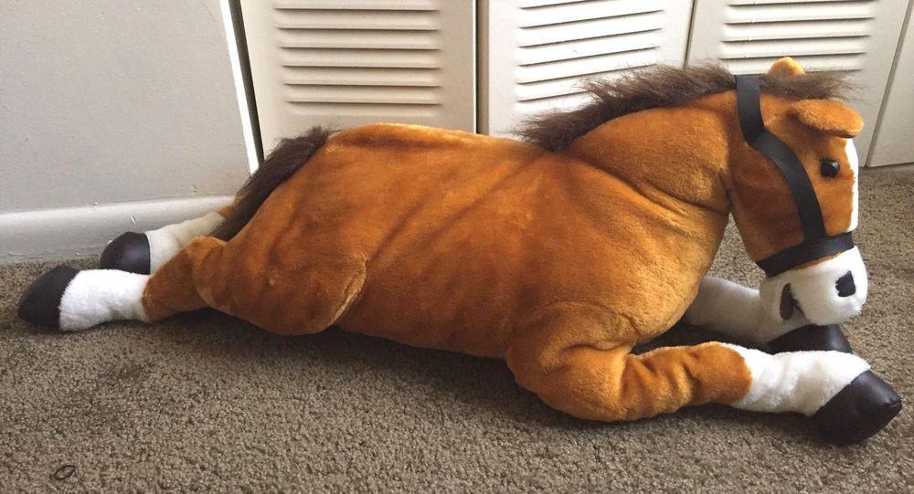 Blue Big Teddy Bear, Hugfun Horse Buy Clothes Shoes Online