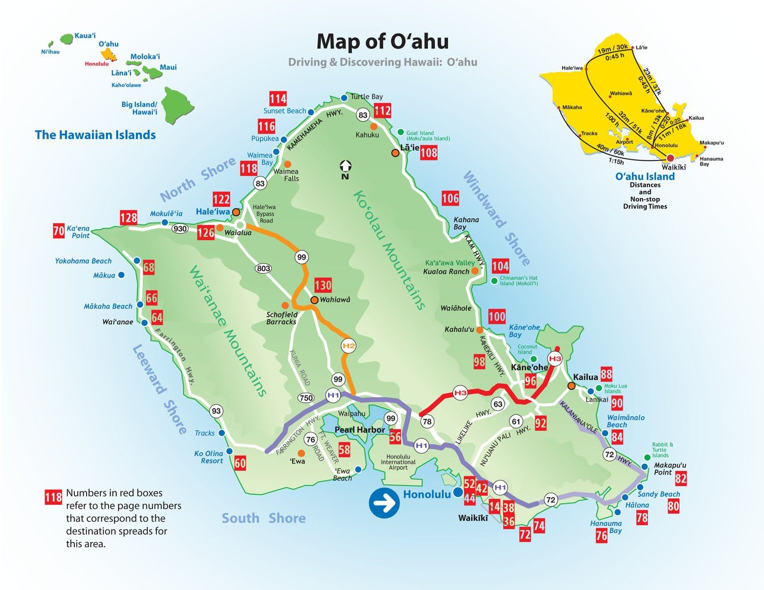 photograph regarding Printable Map of Oahu titled hawaii vacationer map Calgon, consider me absent.. Map of
