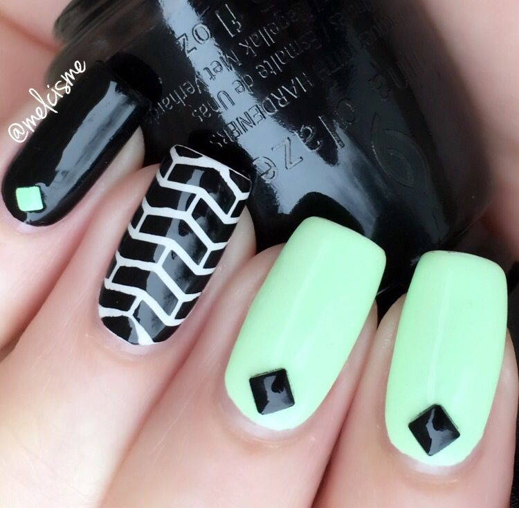 Pin de Melissa Collado en Nail Art by me | Pinterest