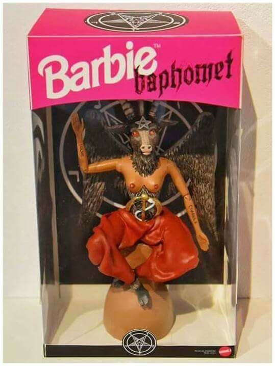 Barbie Baphomet Faux Pinterest Barbie Baphomet And Dolls