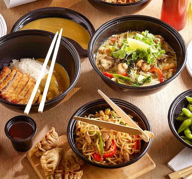 click. click. slurp. delivery now available from wagamama