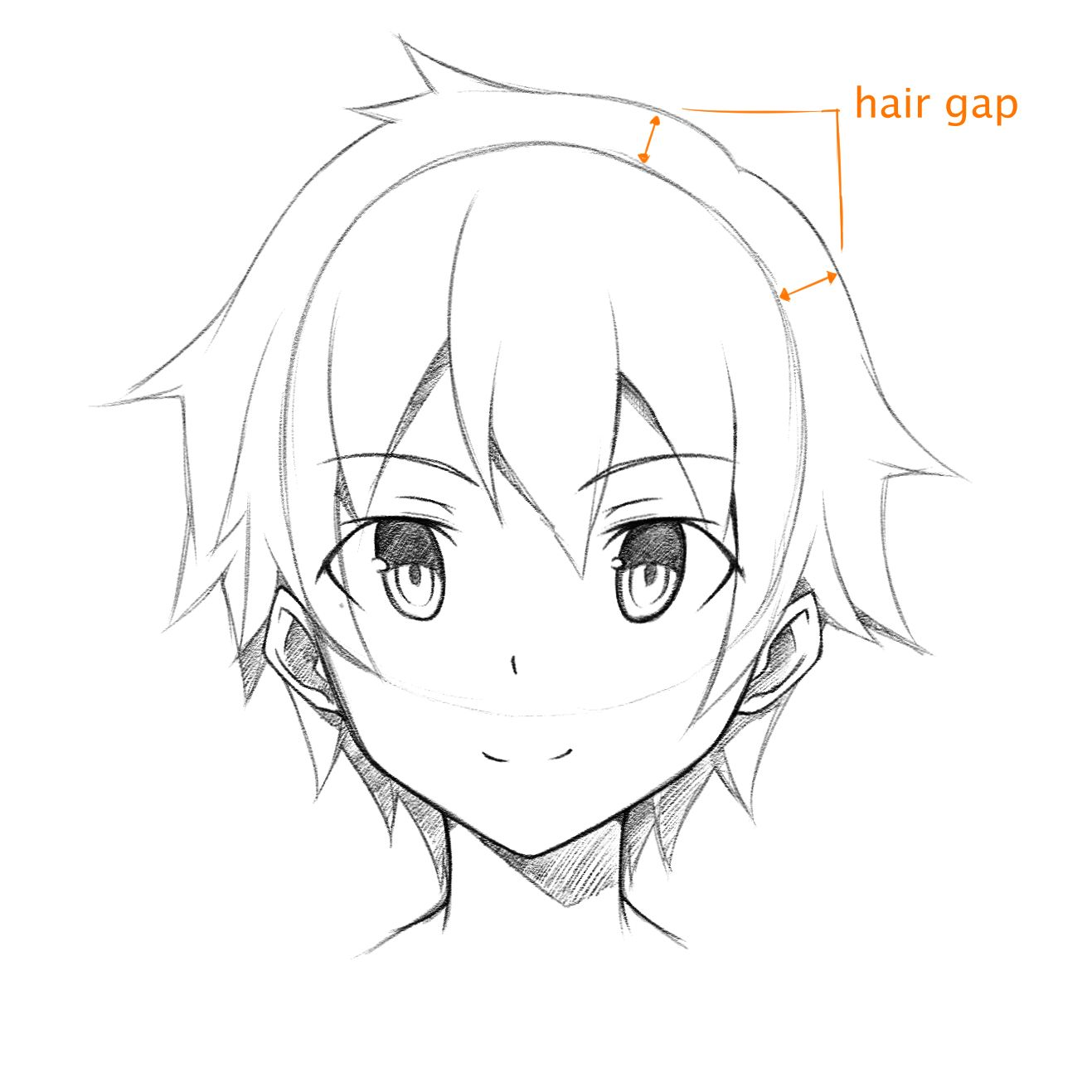 Male Anime Face