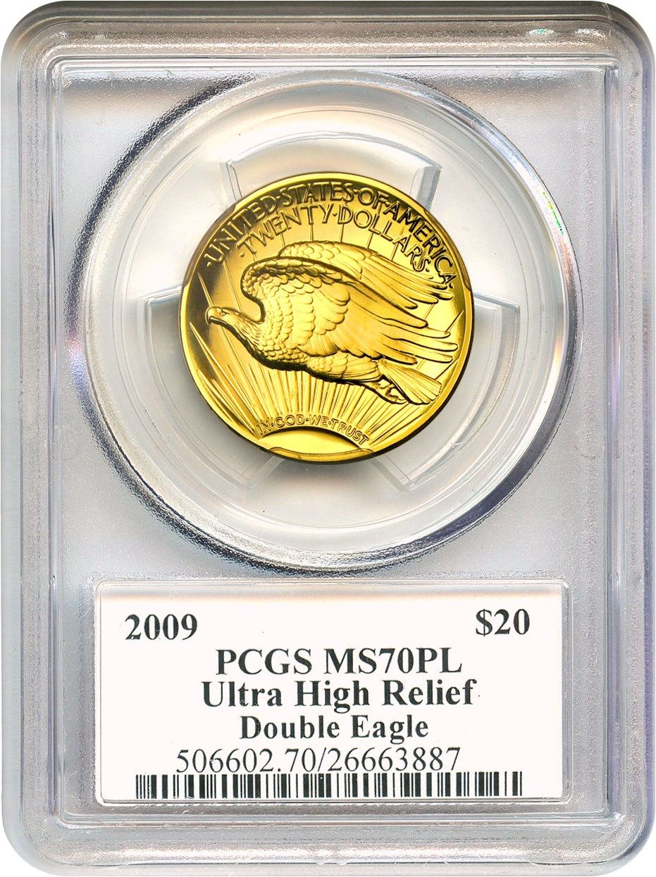 2009 $20 Ultra High Relief Double Eagle PCGS MS70PL http://www.collectorscorner.com/Products/Item.aspx?id=21385247 #UltraHighRelief #DoubleEagle #PCGS #GoldCoin #Bullion #Perfect #Collector #Prooflike #Coin #Numismatic #JohnMercanti #ChiefEngraver #USMint #Signature #Money