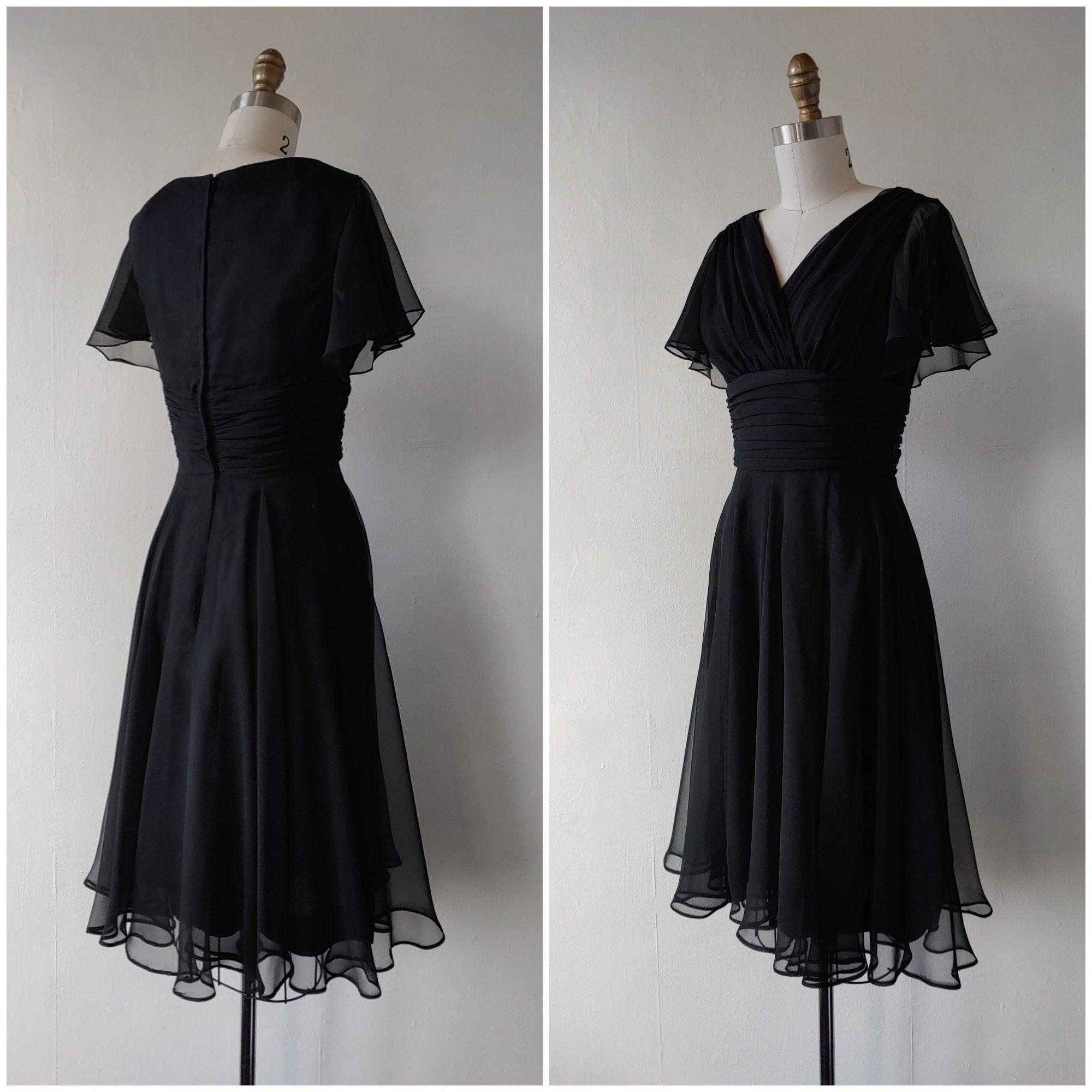 60s Black Dress Vintage 1960s Black Evening Cocktail Dress Etsy Vintage Black Dress Cocktail Evening Dresses Vintage Dresses [ 2000 x 2000 Pixel ]