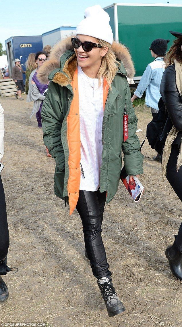 Must be feeling Hot Right Now: Rita Ora wraps up at Glastonbury in ...