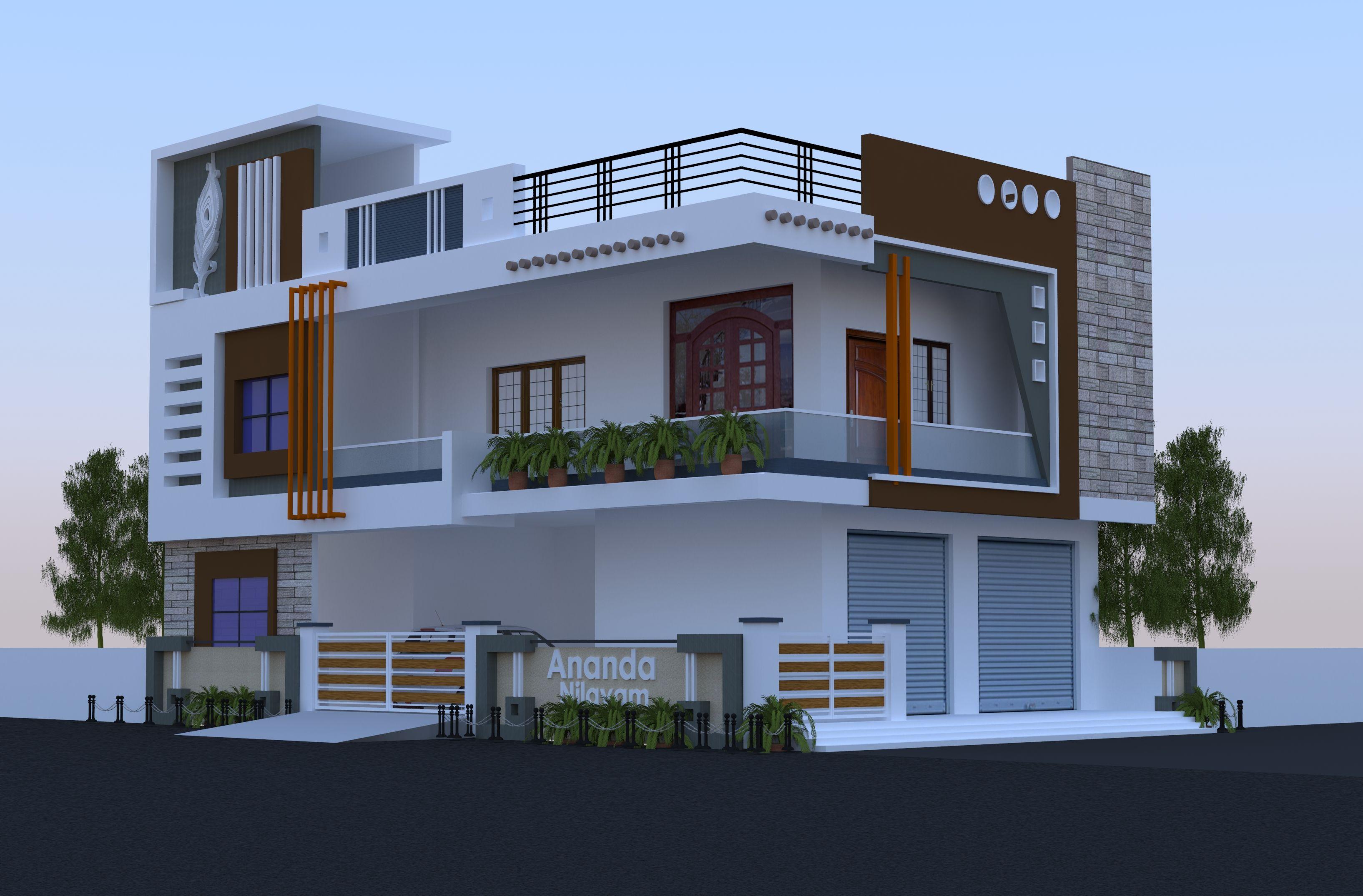Pin By Sravan Reddy On Modern House Exterior Bungalow House Design 3 Storey House Design 2bhk House Plan