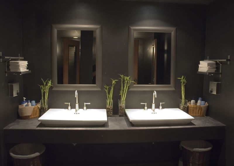 Interiors houston restaurant bathroom g