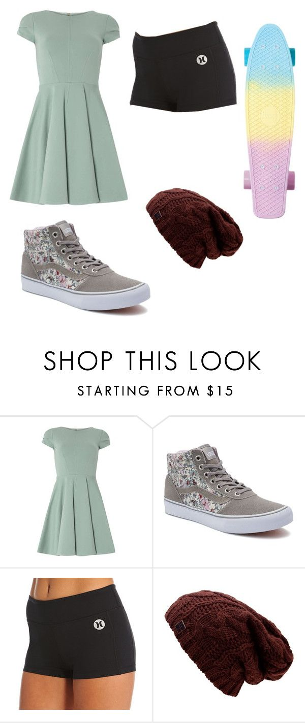 """Fangirl"" by emmylong04 on Polyvore featuring Closet, Vans and Hurley"