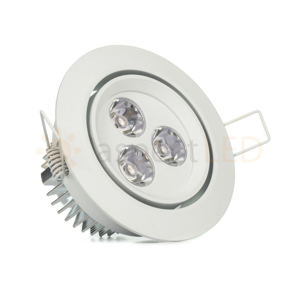 3 5 Led Recessed Light For Flat Or Sloped Ceilings