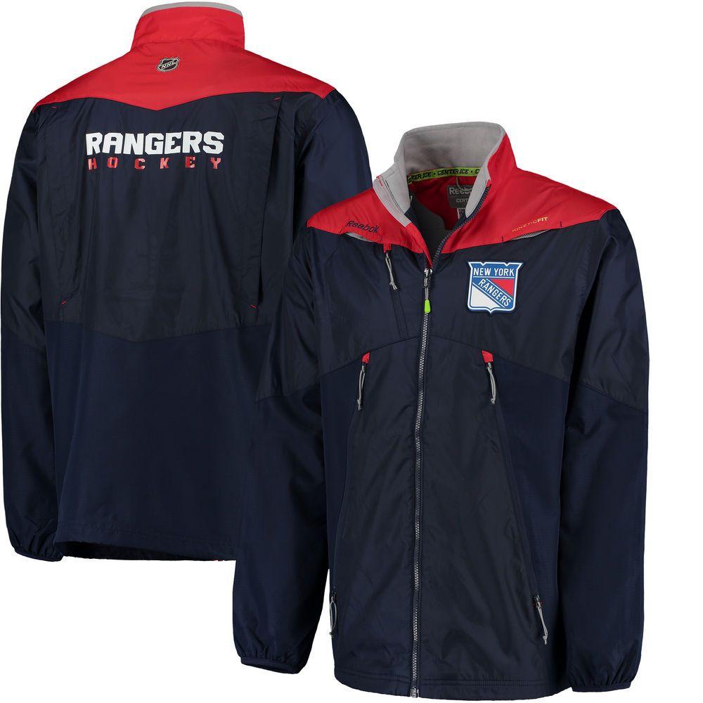 f4bbb367b New York Rangers Reebok Center Ice Rink Jacket - Navy -