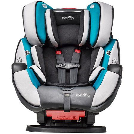 Evenflo Symphony? DLX All-In-One Car Seat, Modesto, Blue | Car seats