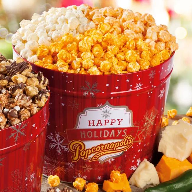 Cheese Lovers 2 Gallon Popcorn Tin