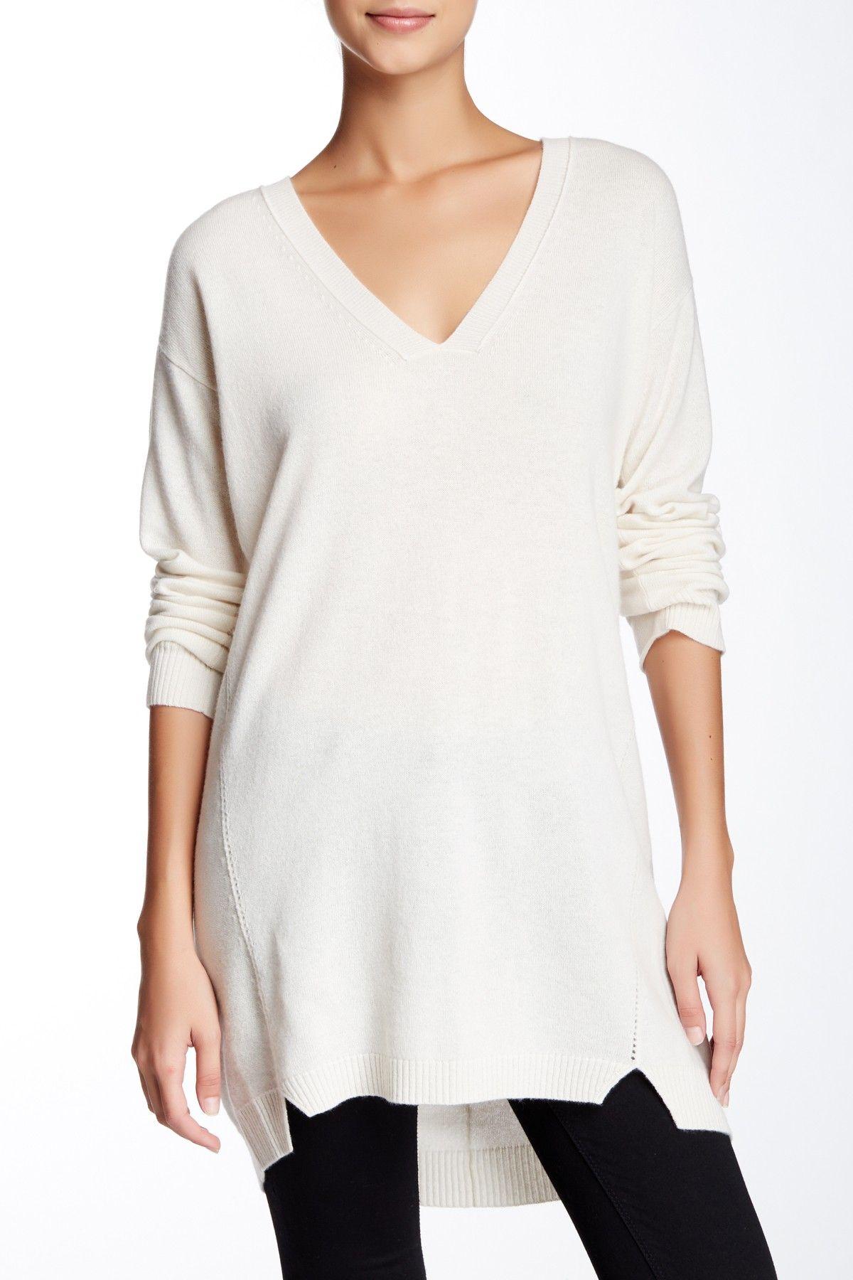 Inhabit | Essential Cashmere Tunic Sweater | Tunic sweater ...