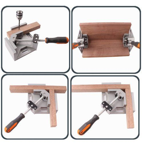 Corner Right Angle Vice Welding Woodworking Clamps At Right Angle Carbide Vise
