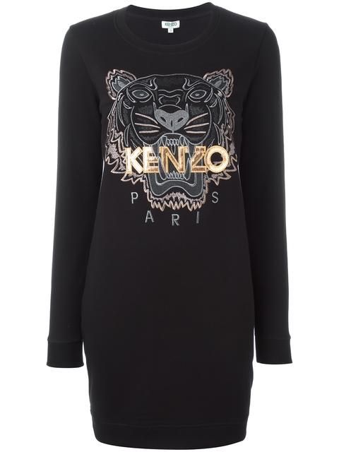 38e48f3429 KENZO Tiger sweatshirt dress. #kenzo #cloth #dress   Kenzo ...
