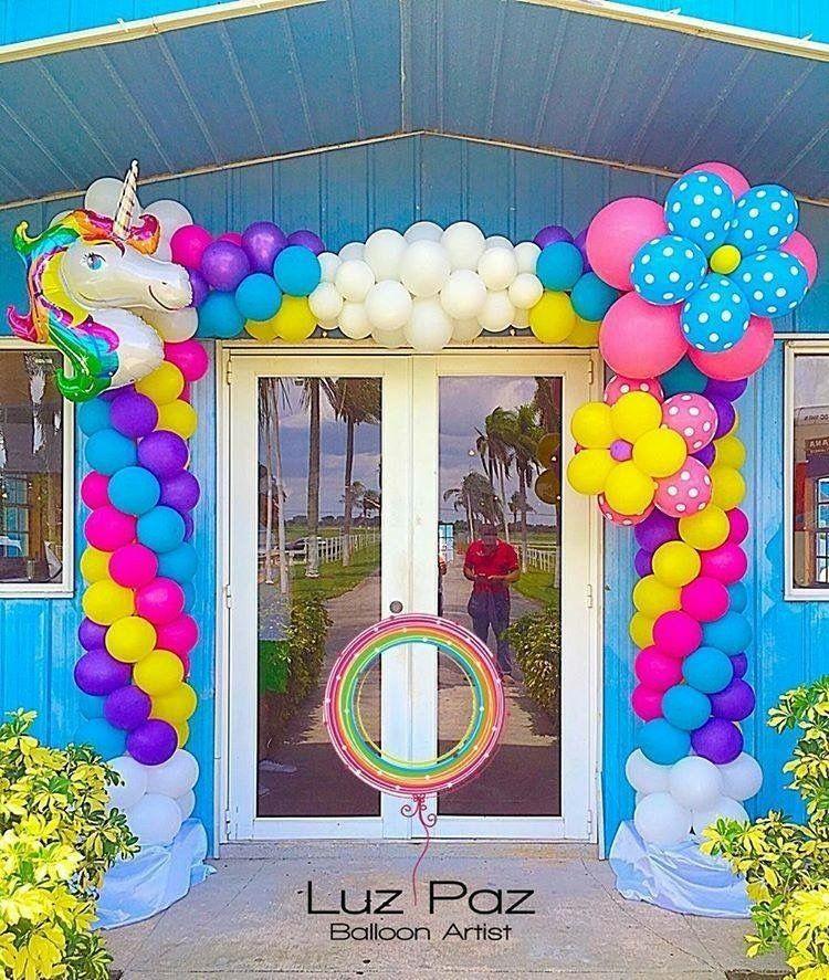 Ballons Unicorn Theme Party Party Balloons