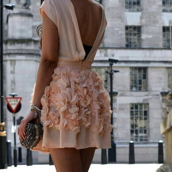 Pink girly dress