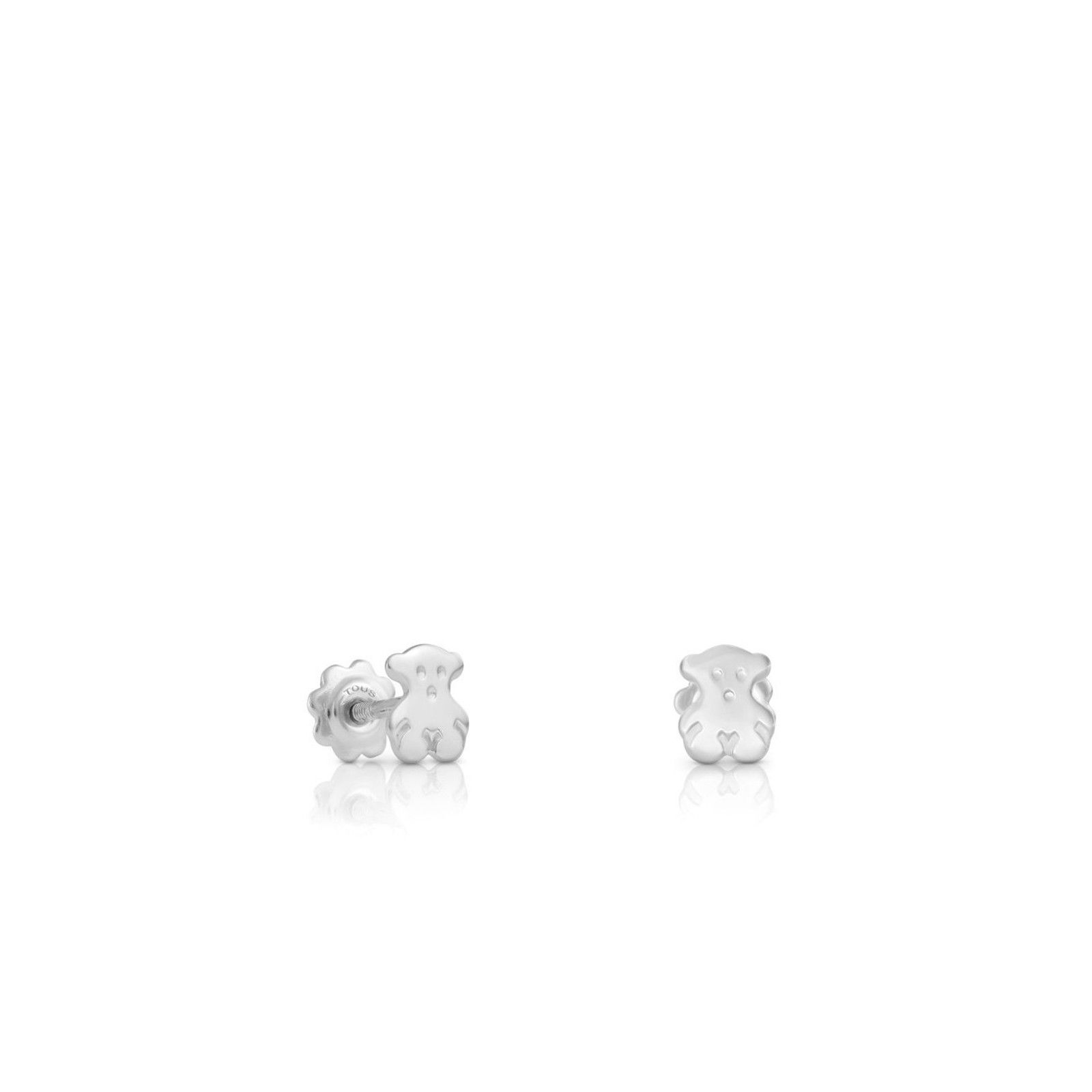 talla 40 8e0fa ed98f Pendientes Baby TOUS de Oro blanco | Joyería | Oro blanco ...