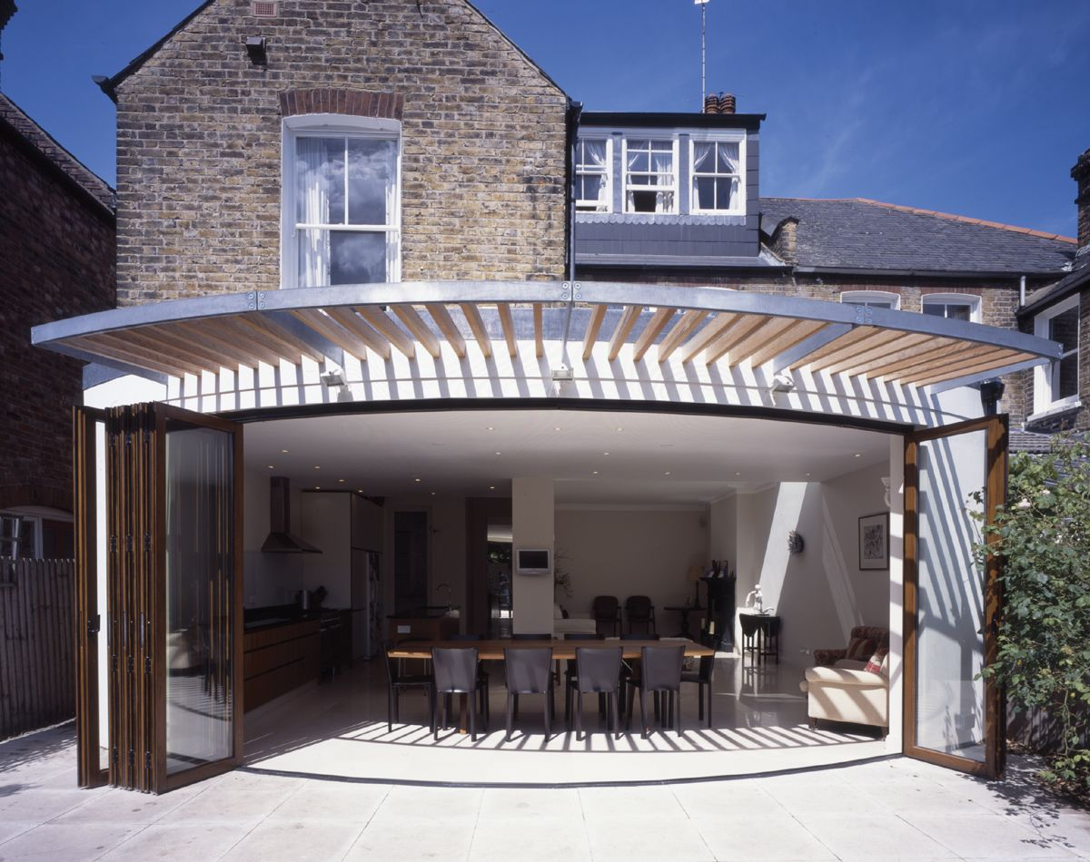 Draaideur Zwembad Rear Extension Private House London Sw4 Giles Pike