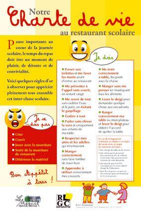Une charte pour la restauration scolaire les parents for Formation restauration scolaire