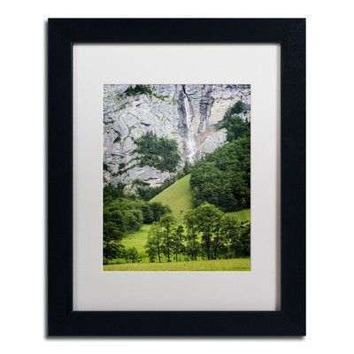 "Trademark Art 'Power Source' by Philippe Sainte-Laudy Framed Photographic Print Size: 14"" H x 11"" W, Matte Color: White"