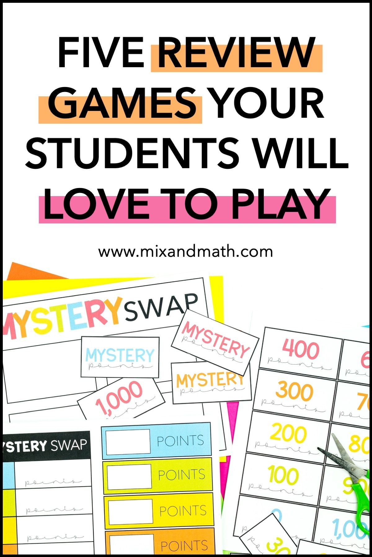 Math Review Games