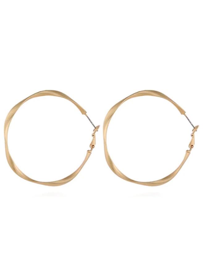 Big Ring Simple Style Hoop Earrings Gold Big Earrings Gold Hoop Hoopearringsbaddie Ring Si Hoops Earrings Outfit Big Earrings Gold Big Hoop Earrings