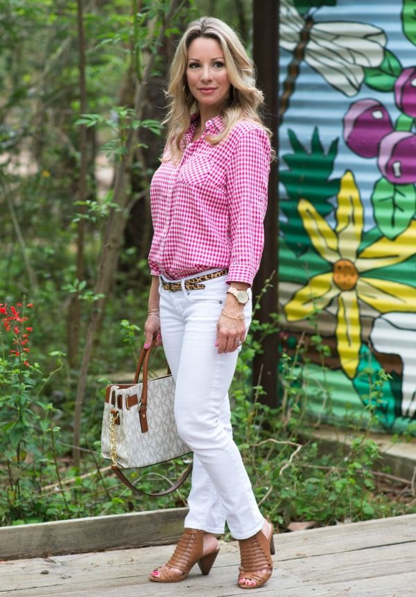 White Jeans Day & Night | Spring/Summer outfit | HWH // FASHION ...