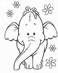 Efelante Dibujo De Elefante Elefantes Pintados