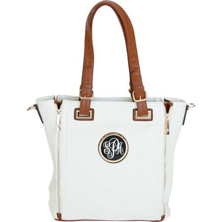 Crafted of vegan leather and featuring up to 3 personalized characters, this stylish tote is a thoughtful gift for your friends (and the animals will thank y...