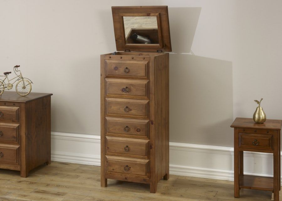 For The Smaller Bedroom A 5 Drawer Chest Of Drawers With A