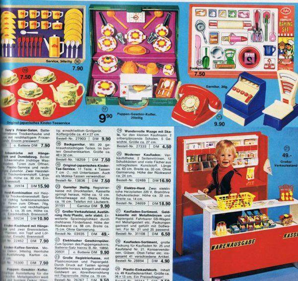 catalogue quelle allemand 1 old toys pinterest catalog. Black Bedroom Furniture Sets. Home Design Ideas