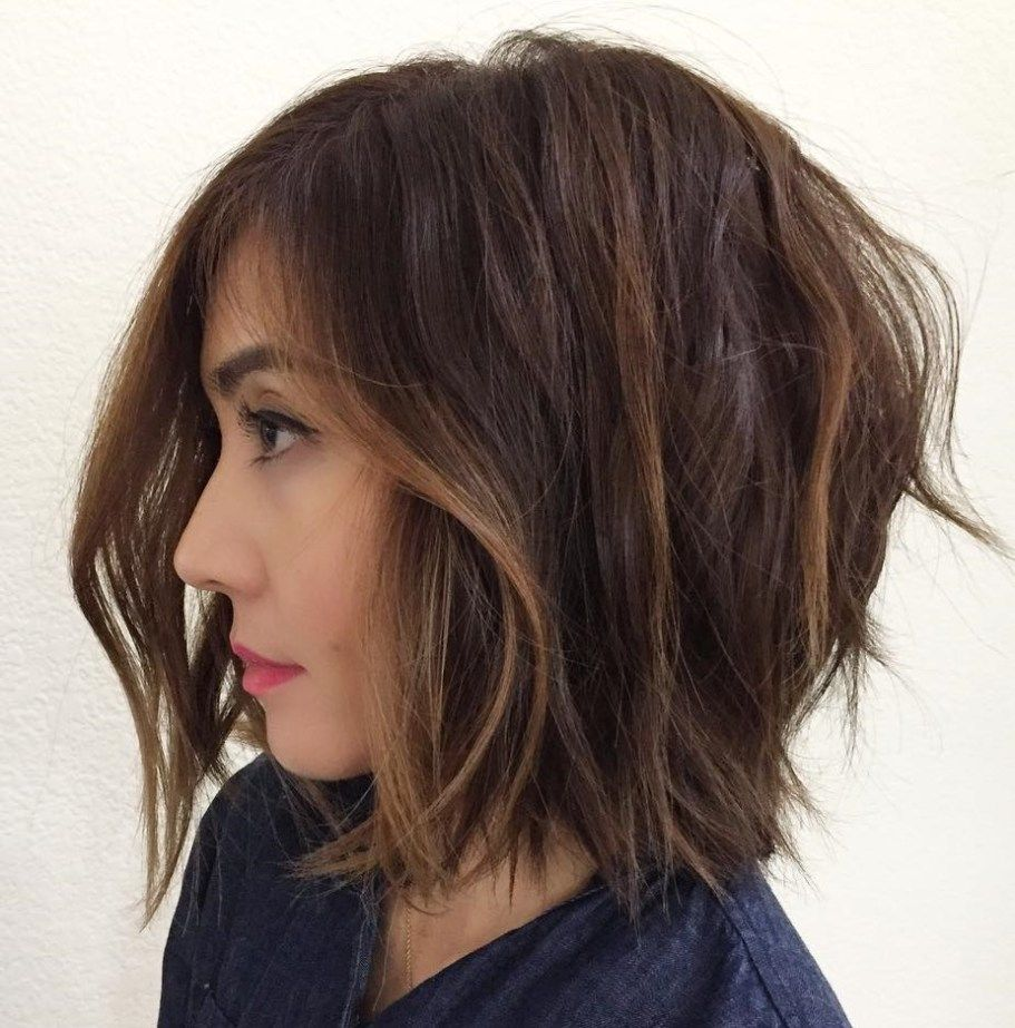 60 Messy Bob Hairstyles For Your Trendy Casual Looks Bobs Messy