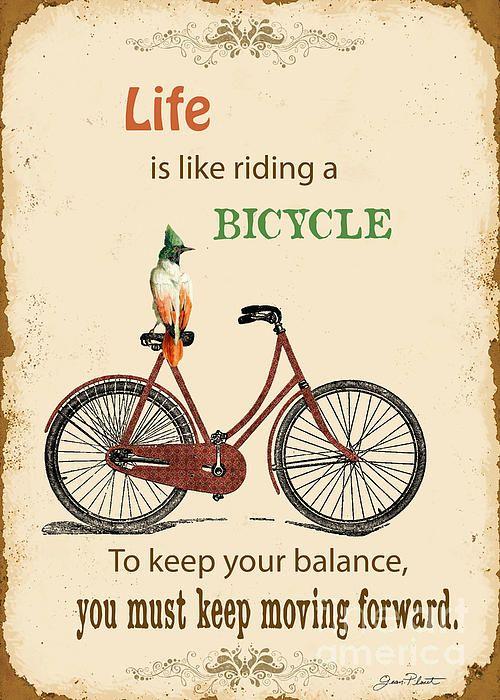 bicicletta metafora della vita