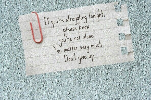 Stay strong!!