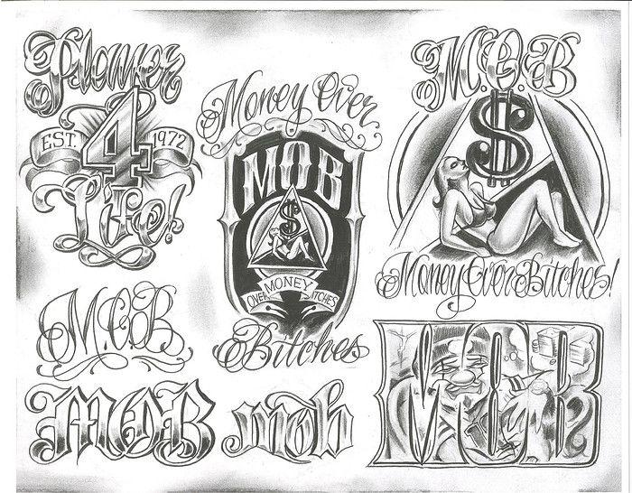 Chicano Tattoo Designs Chicano Tattoos Boog Tattoo Chicano Lettering
