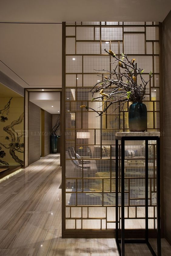 room partitions are becoming more and more popular in interior rh pinterest com