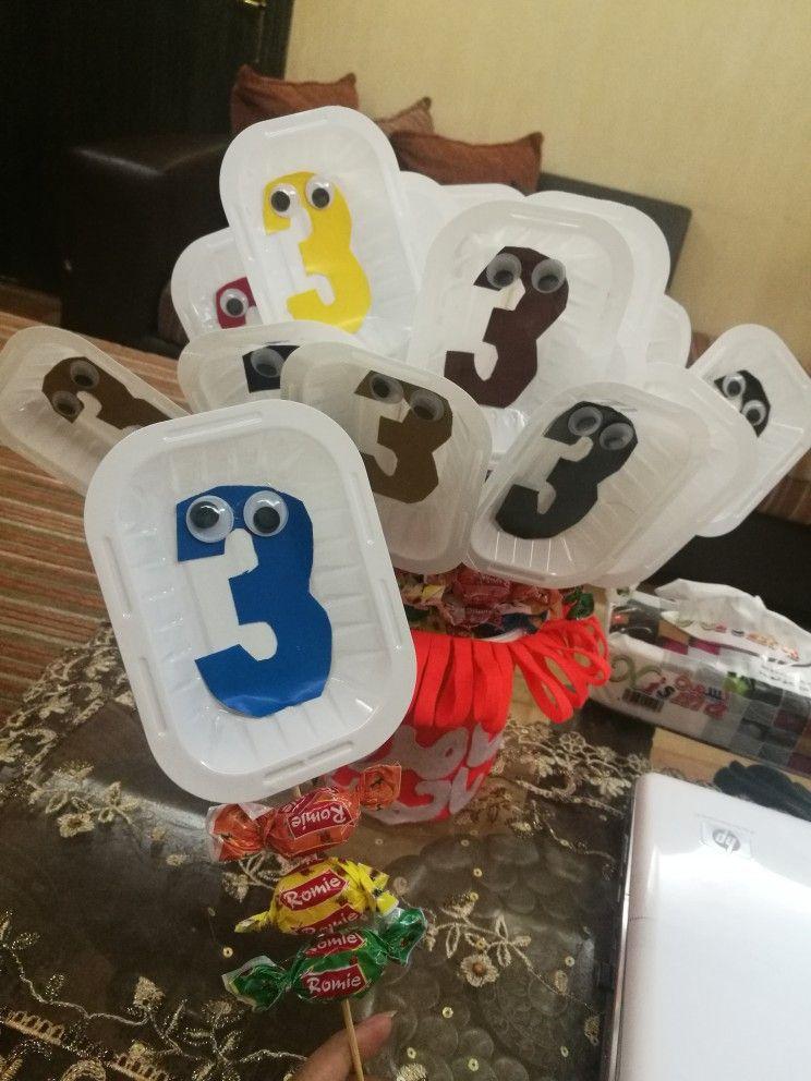 رقم 3 Number3 نشاط رقم 3 Summer Kids Sugar Cookie Kids