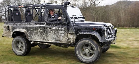 Richard Hammond and his Defender 110 | cycling | Pinterest ...