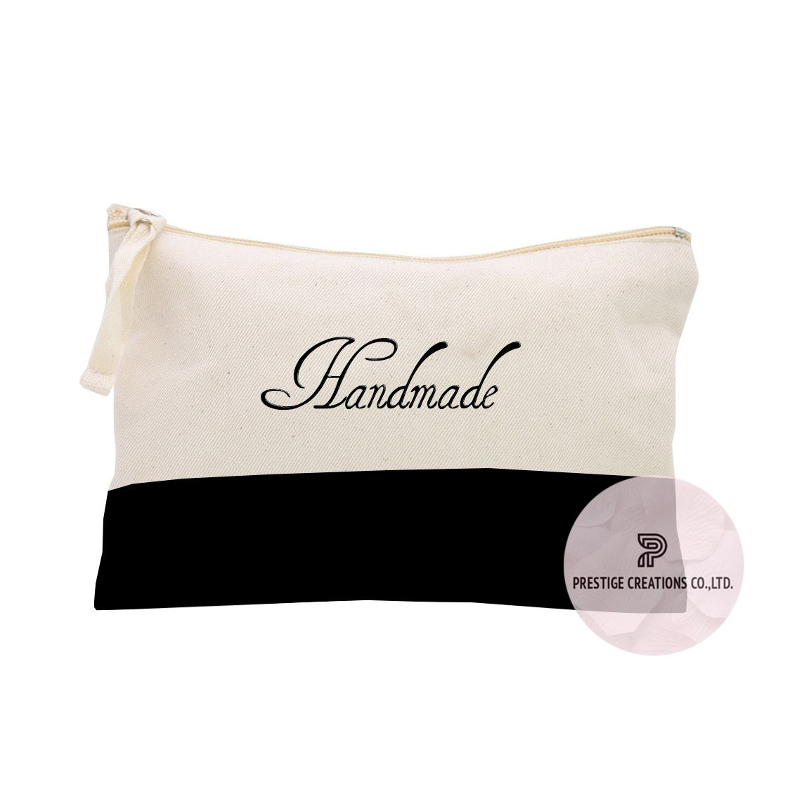 b6f8805d5762 Thai wholesaler of embroidered cotton bags and personalized cosmetic bags  offering beautiful two color design cosmetic bags for wholesale