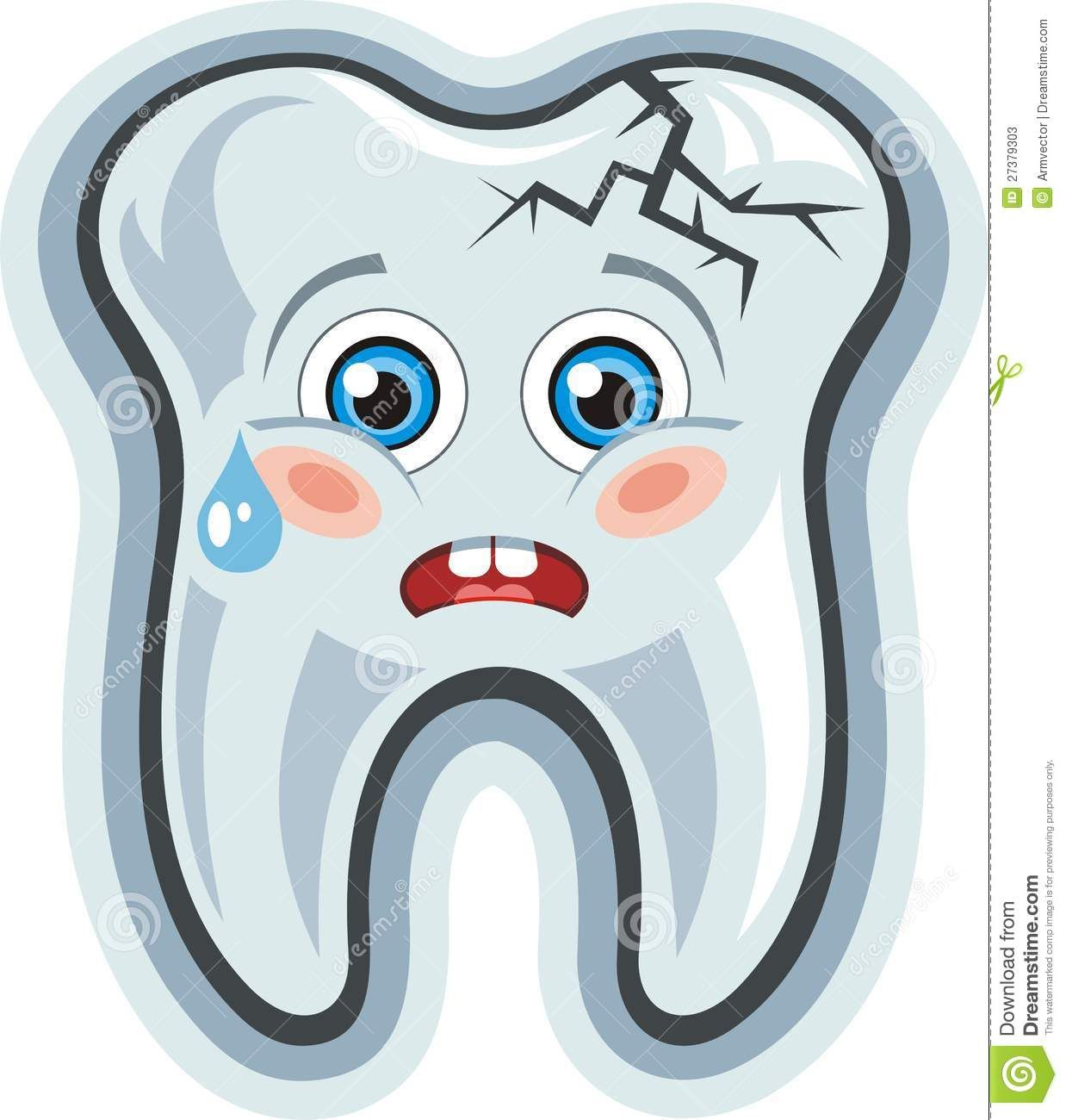 Science vector images over 84 600 vectorstock page 446 - Happy Tooth Clip Art Vector Cartoon Cute Crying Tooth Toothache