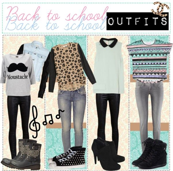 """Fall back to school outfits!"" by polyvore-tip-girlz ❤ liked on Polyvore"