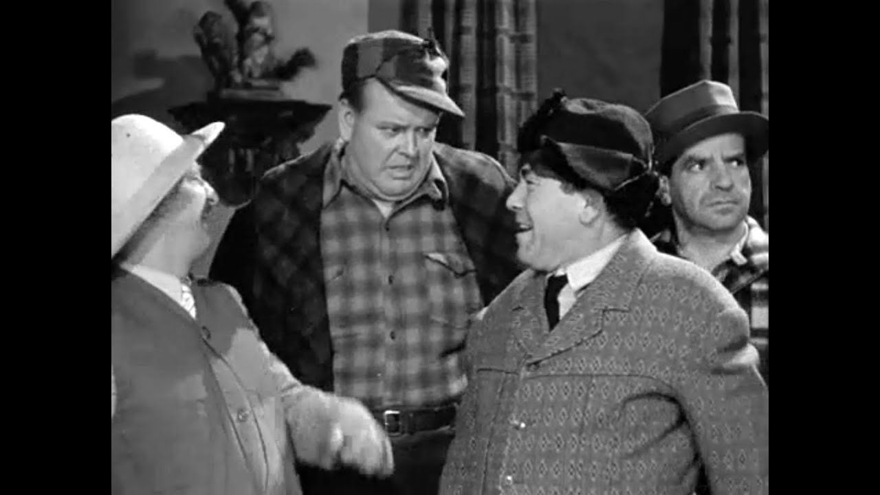 The Three Stooges 038 A Ducking They Did Go 1939 Curly ...
