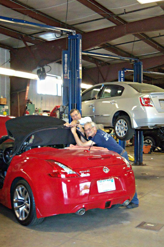 Port City Nissan Service Department hard at work! We make