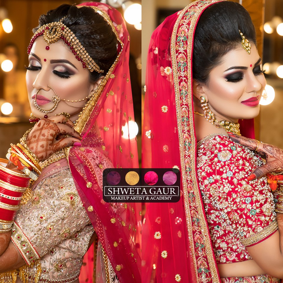 Shweta Gaur Makeup Artist Indian wedding makeup, Bridal