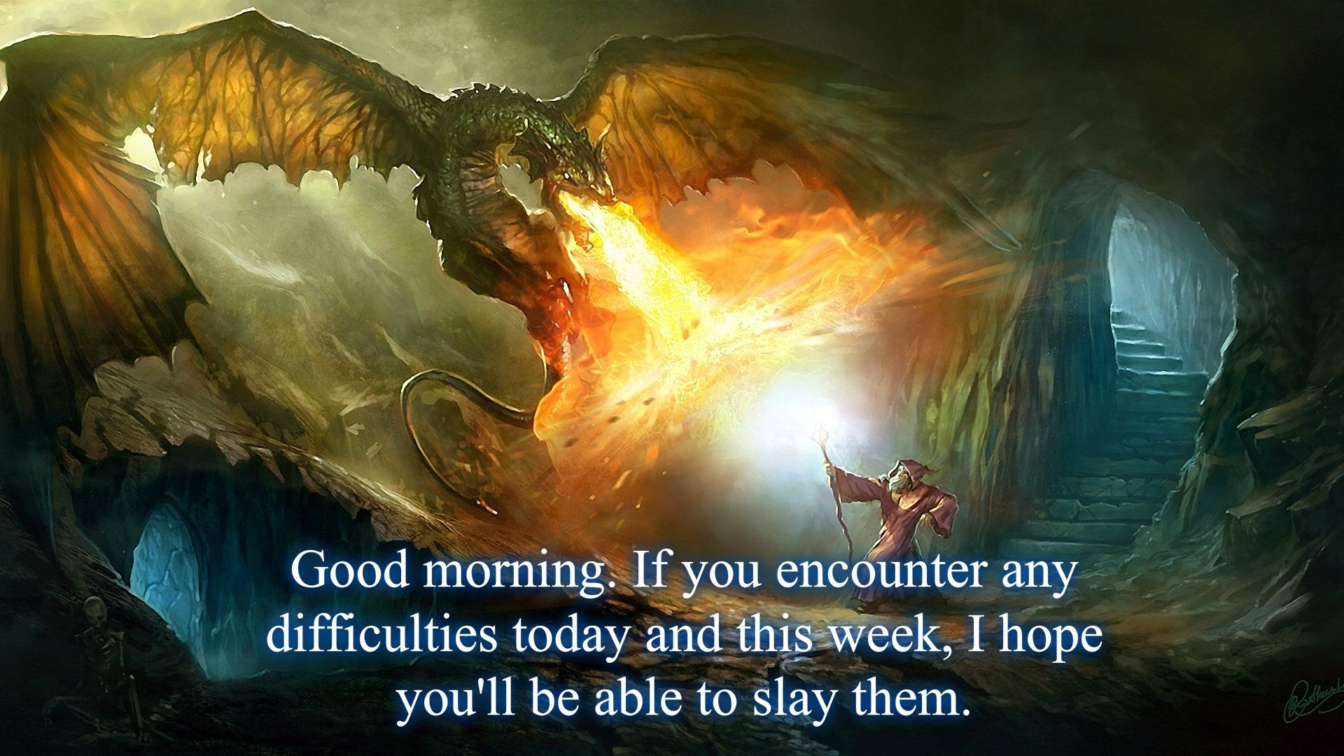 Good morning fantasy picture.