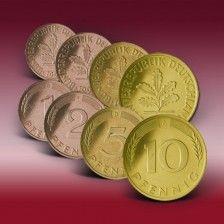 Komplettset 1 2 5 Und 10 Pfennig Deutschland D Mark Munzen D